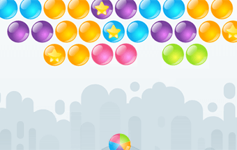 Jeu de Bubble Shooter Sans Fin
